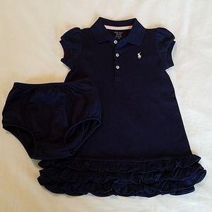 Ralph Lauren Toddler Baby Polo Dress